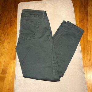 Olive green Express ANKLE STELLA stretchy pants